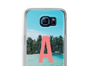 Make your own Galaxy S6 monogram case