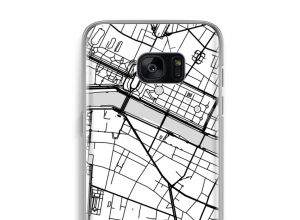 Put a city map on your Galaxy S7 Edge case