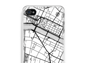 Put a city map on your iPhone 4 / 4S case