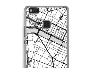 Put a city map on your Ascend P9 Lite case