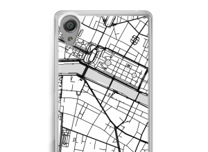 Put a city map on your Xperia X case