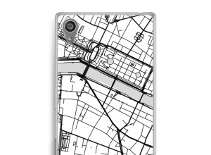 Put a city map on your Xperia Z5 case