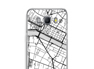 Put a city map on your Galaxy J5 (2016) case