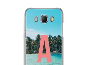 Make your own Galaxy J5 (2016) monogram case