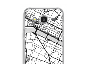 Put a city map on your Galaxy J7 (2015) case