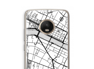 Put a city map on your Moto G5 Plus case