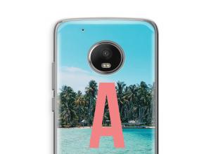 Make your own Moto G5 monogram case