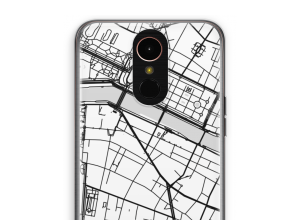 Put a city map on your K10 (2017) case