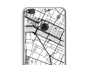 Put a city map on your Ascend P8 Lite (2017) case