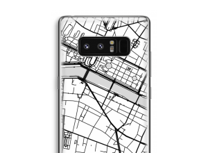 Put a city map on your Galaxy Note 8 case