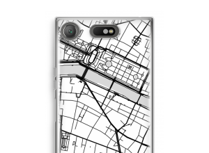 Put a city map on your Xperia XZ1 Compact case