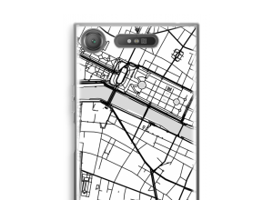 Put a city map on your Xperia XZ1 case