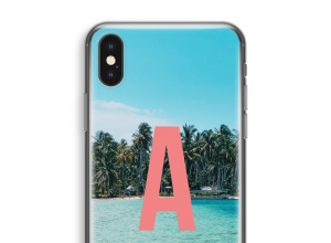 Make your own iPhone X monogram case