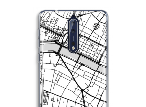 Put a city map on your Nokia 8 case