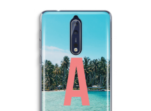 Make your own Nokia 8 monogram case