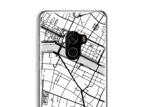 Put a city map on your Mi Mix 2 case