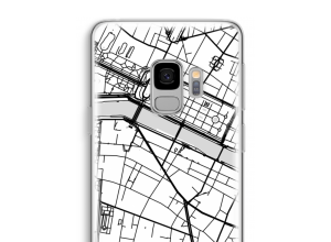 Put a city map on your Galaxy S9 case