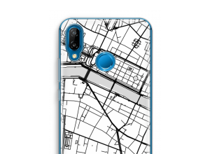 Put a city map on your P20 Lite case