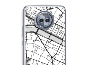 Put a city map on your Moto X4 case