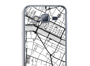 Put a city map on your Galaxy J3 (2016) case