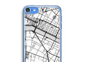 Put a city map on your iPod touch 6 case