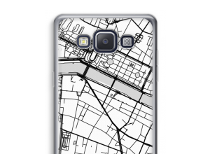 Put a city map on your Galaxy A3 (2015) case