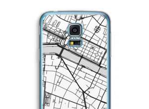 Put a city map on your Galaxy S5 mini case