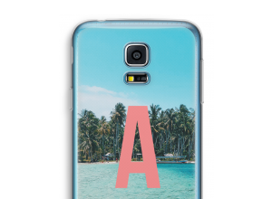 Make your own Galaxy S5 mini monogram case