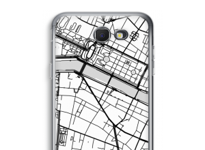 Put a city map on your Galaxy J7 Prime (2017) case
