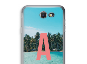 Make your own Galaxy J7 Prime (2017) monogram case