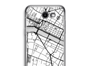 Put a city map on your Galaxy J3 Prime (2017) case