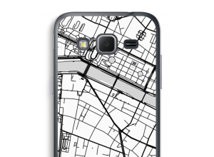 Put a city map on your Galaxy Core Prime case