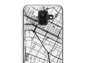 Put a city map on your Galaxy A6 (2018) case
