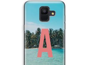 Make your own Galaxy A6 (2018) monogram case