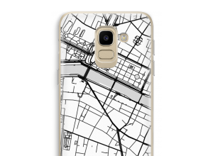 Put a city map on your Galaxy J6 (2018) case