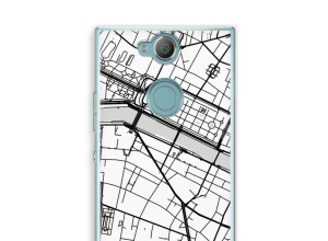 Put a city map on your Xperia XA2 case