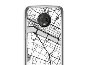Put a city map on your Moto G6 Plus case