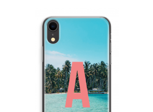 Make your own iPhone XR monogram case