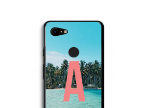 Make your own Pixel 3 XL monogram case