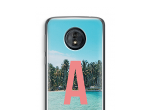 Make your own Moto G6 Play monogram case