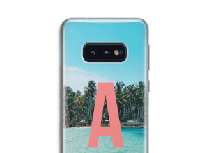 Make your own Galaxy S10 monogram case