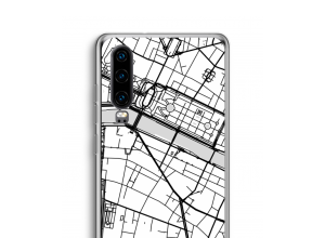 Put a city map on your P30 case