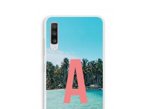 Make your own Galaxy A70 monogram case