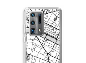 Put a city map on your P40 Pro Plus case