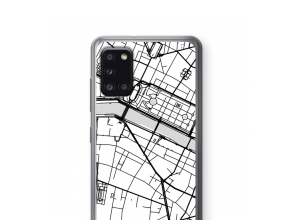 Put a city map on your Galaxy A31 case