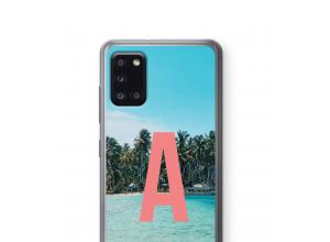 Make your own Galaxy A31 monogram case