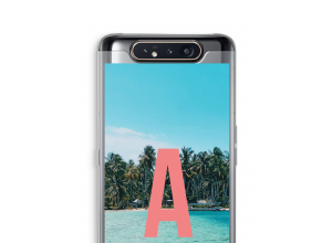 Make your own Galaxy A80 monogram case