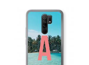 Make your own Xiaomi Redmi 9 monogram case