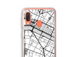 Put a city map on your Galaxy A20e case