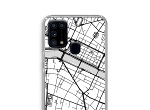 Put a city map on your Galaxy M31 case